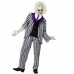Horror outfit gestoorde man carnaval heren