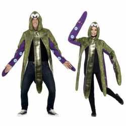 Inktvis outfit carnaval volwassenen