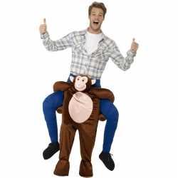 Instap dierenpak outfit aap carnaval volwassenen