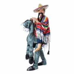 Instap outfit Mexicaan op ezel