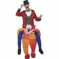 Instapoutfit circus clown carnaval volwassenen