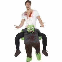Instapoutfit zombie carnaval volwassenen