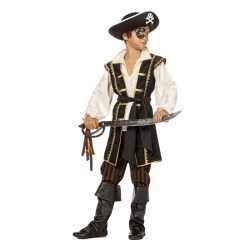 Jongens piraten outfit bruin
