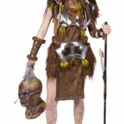 Kanibalen stam outfit carnaval dames