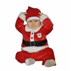 Kerstman outfit carnaval babies 1 - 2 jaar