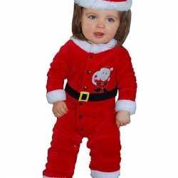 Kerstman outfit carnaval babies