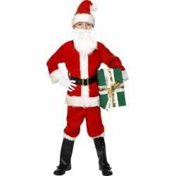 Kerstman outfit carnaval kinderen