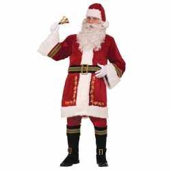 Kerstman outfit deluxe carnaval heren