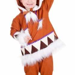 Kinderen eskimo outfit compleet
