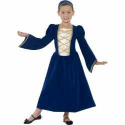 Kinderoutfit middeleeuwse prinses jurk