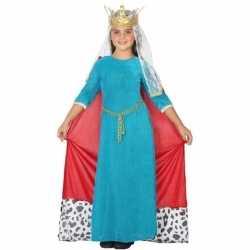 Koninginnen verkleedoutfit carnaval meisjes