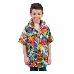 Luau hawaii blouse carnaval kinderen
