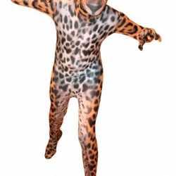 Luipaarden morphoutfits carnaval kinderen