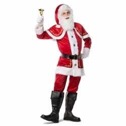 Luxe kerstman outfit carnaval heren