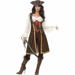 Luxe piraten outfit carnaval dames