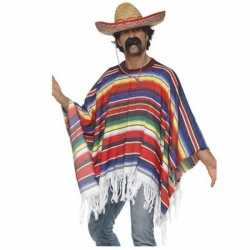 Mexicaans outfits ponchosombrero