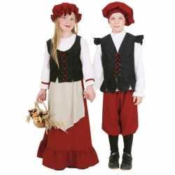 Middeleeuws outfit carnaval jongens