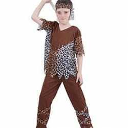 Neanderthaler outfit carnaval kinderen