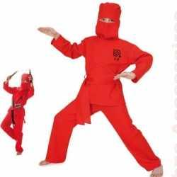 Ninja outfit carnaval kinderen