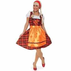 Oktoberfest outfitSchotse ruit
