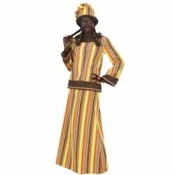 Outfit carnaval Afrikaanse vrouw
