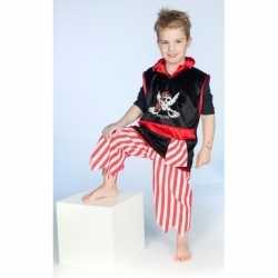 Piraat verkleedoutfit carnaval jongens