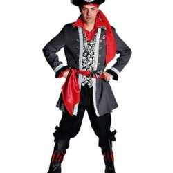Piraten outfit luxe carnaval heren