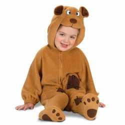 Pluche beren outfit carnaval babys