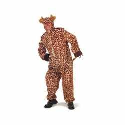 Pluche giraffe outfits