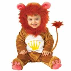 Pluche leeuwen pakje carnaval babys