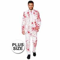 Plus size compleet outfitbloedspatten