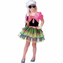Popster outfit carnaval meisjes