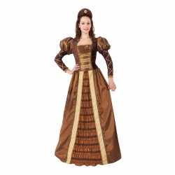 Romeojuliet prinses/jonkvrouw outfit carnaval dames