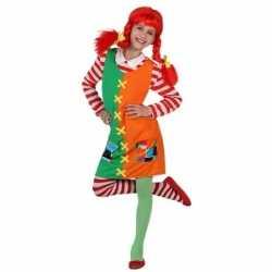Roodharig sterk meisje verkleedoutfit carnaval meisjes