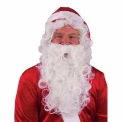 Sinterklaas outfit Kerstman baardpruik