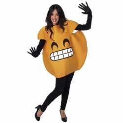 Smile emoticon verkleedoutfit volwassenen