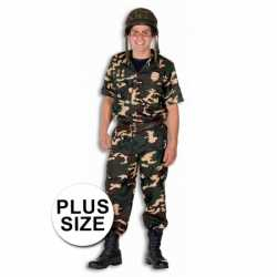 Soldaten outfit in carnaval