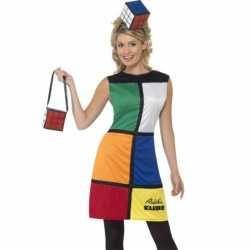 Spelletje Rubiks kubus outfit