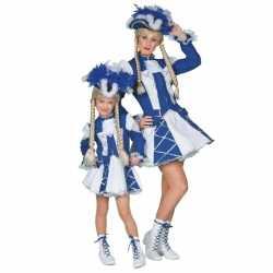 Twirl outfit blauw carnaval meiden