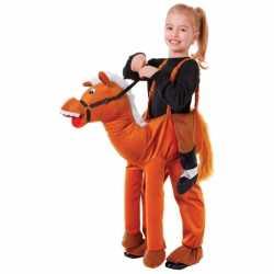Verkleed stap in paard outfit carnaval kinderen