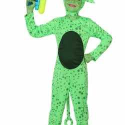 Verkleedkleding Alien outfit kind
