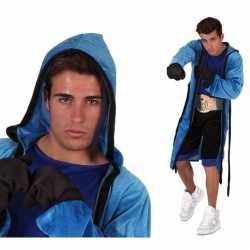 Verkleedkleding bokser outfit carnaval heren 5 delig