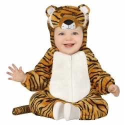 Verkleedkleding tijger outfit carnaval peuters