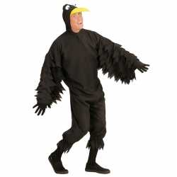 Vogel outfit zwarte kraai