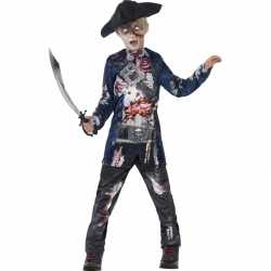 Zombie outfit carnaval jongens