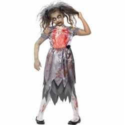 Zombie outfit carnaval meiden