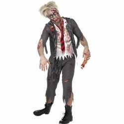 Zombie schooljongens outfit